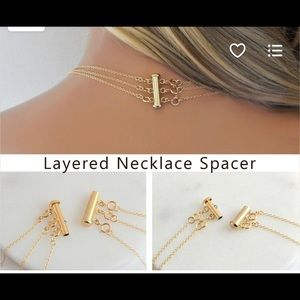 Jewelry - Necklace connector set